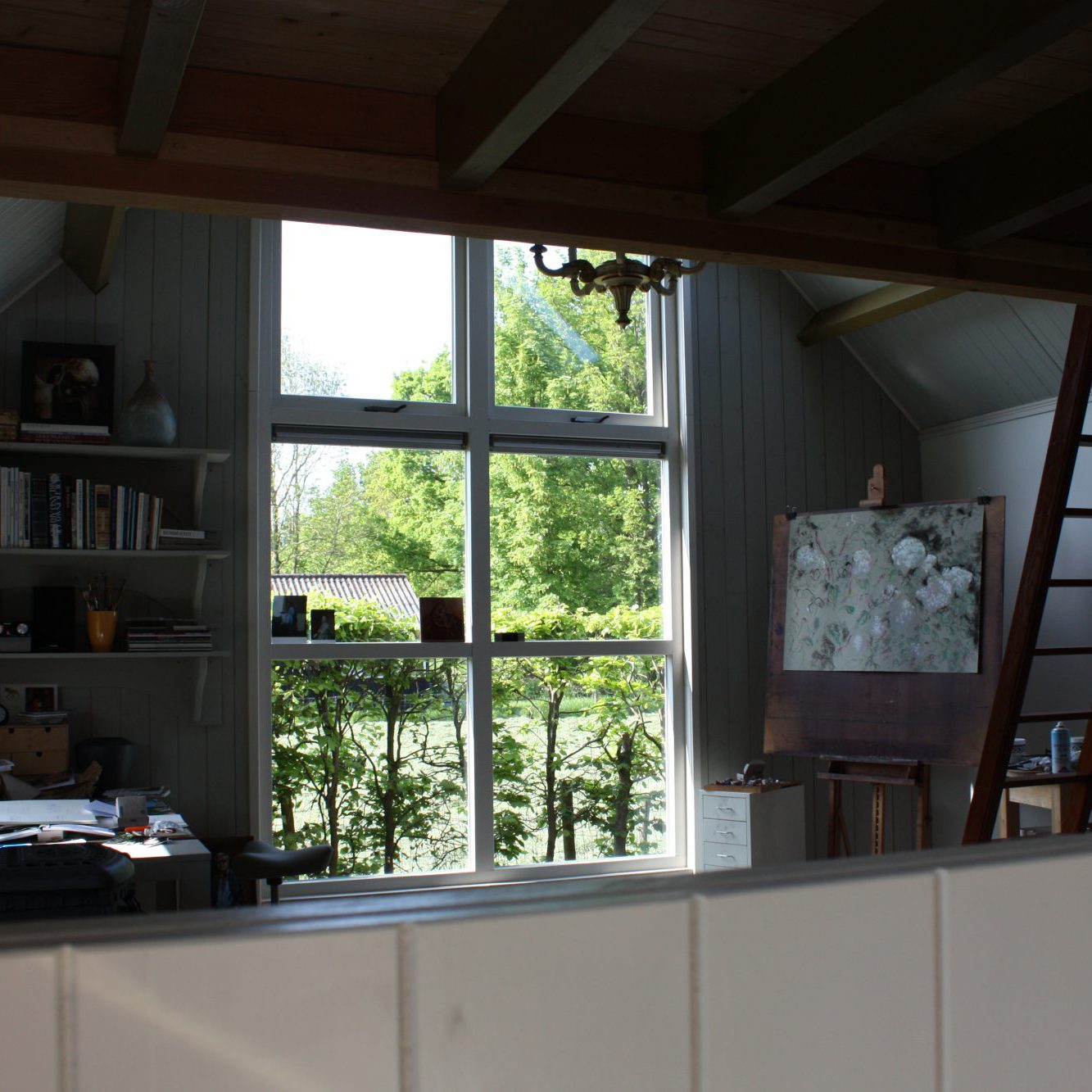 Studio in summer